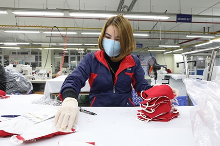 Garment and textile firms ready to export face masks to US, Europe