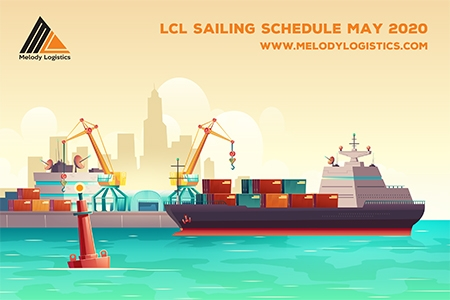 LCL Sailing Schedule May 2020