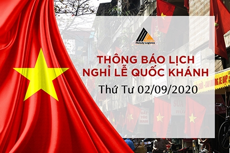 HOLIDAY NOTICE - VIETNAM NATIONAL DAY 2/9