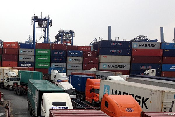Tình trạng khan hiếm container rỗng ngày càng phức tạp